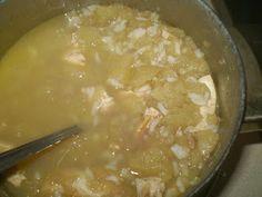 Ania mama Agnieszki: kurczak z jabłkiem, ryżem i cynamonem po 8 m-cu