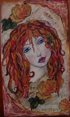 Mixed Media Artist: Artist Profile: Diane Salter