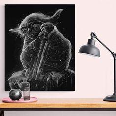 Tableau Star Wars Yoda