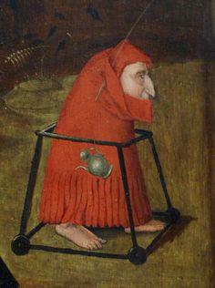 Bosch — Temptation of Saint Anthony, Right Panel