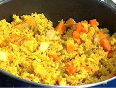 How to Make Curried Rice, Jamaican Recipes, Jamaican Cooking
