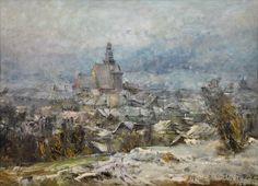 Blažíček Oldřich - Pohled na Prachatice
