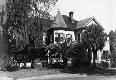 Florida Memory - South view of Chandler Holmes Smith Jr. home - Madison, Florida