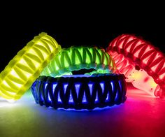 Learn how to make flashing LED paracord bracelets to make sure you can be seen!