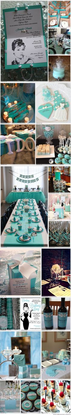Breakfast at Tiffany's Bridal Shower this will be my wedding shower ! I'm obsessed