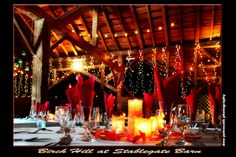 Romantic twinkle lighting and soft candles set the stage for a spectacular event. Birch Hill Events #NY #Wedding #Albany