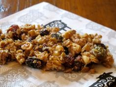 This healthy granola is DIVINE and suitable for diabetics too! Try it! You know you want to ...