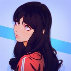 "Digital art and illustration; character design // ""Scarlet& being a grumpy .- Digital art and illustration; character design // ""Scarlet& being a grumpy … Digital art and illustration; Art Anime Fille, Anime Art Girl, Manga Art, Art And Illustration, Animal Illustrations, Character Illustration, Hinata Hyuga, Naruhina, Kuvshinov Ilya"