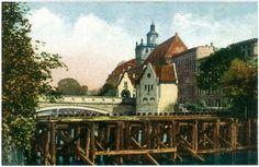 Zdjęcie numer 4 w galerii - Wrocław sprzed stu lat na pocztówkach Maxa Leipelta. Wiele z tych miejsc już nie istnieje [FOTO]
