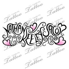Tattoo with children's names...Omg I love this, shows kids names and their dob