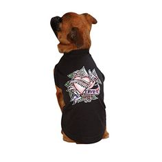 ESC Tattoo Pet Tee Shirt Heart -- Want additional info? Click on the image. (This is an affiliate link) #DogCare
