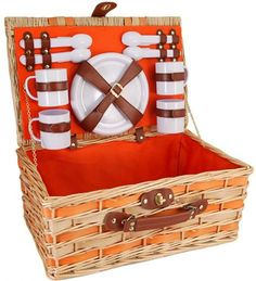 The perfect gift for the spring/summer bride! What an excellent shower or wedding gift! Pick one up for the bride-to-be, and get a second basket for yourself! What a cheerful basket for your next outdoor adventure! Find this basket and more at gigisbigbackyard.com!