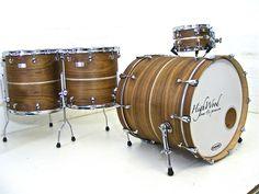 Awesome finish on drum kit