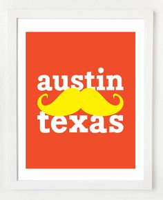 Austin, Texas print