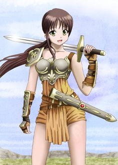 Image result for manga female warriors