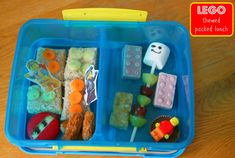 LEGO Themed Packed Lunch - Mummy Mishaps