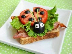 Fun food art ideas for kids ~ crafts and arts ideas