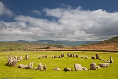 Swinside stone circle in the south western lake district.