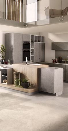 Classic Style Kitchen Furniture Timeless Furniture For Your Home Modern Kitchen Interiors, Modern Kitchen Design, Interior Design Kitchen, Contemporary Kitchens, Concrete Kitchen, Kitchen Flooring, Kitchen Furniture, Kitchen Worktop, Barn Kitchen