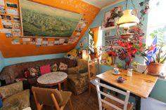 Cafe Babalu cozy interior by currystrumpet, via Flickr