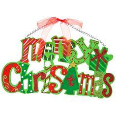 Merry Christmas Wall Plaque | Poundland