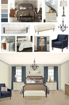 Design Styles: Your Guide To Modern Farmhouse | Modern Farmhouse Bedroom |  Modern Farmhouse Style