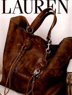 Ralph Lauren Bag-good leather goes so well with plaid Ralph Lauren Taschen, Ralph Lauren Bags, Ralph Lauren Handbags, Sac Michael Kors, Michael Kors Outlet, Beautiful Bags, Purses And Handbags, Mk Handbags, Burberry Handbags