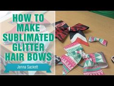 Let's make a hairbow! /Something different/ DIY HOW TO MAKE A HAIR BOW - YouTube