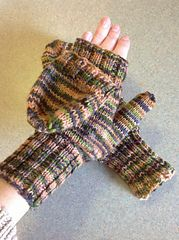 Ravelry: Mittens with a Flap pattern by PJ Allen