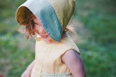 Petite Marin repurposes men's cotton shirts into classic caps, bonnets and tea dresses | Inhabitots