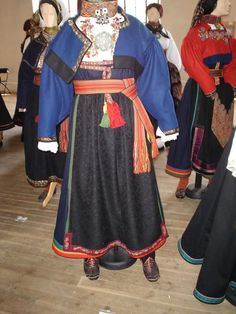 Folk Costume, Costumes, Scandinavian Embroidery, North Africa, Norway, Apron, Folk Art, Asia, Color