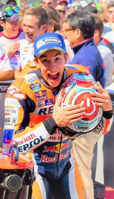 Marc Marquez 93 MotoGP 2016 Marc Marquez, F1 Model Cars, Red Bul, Motogp, Thighs, Champion, Bikers, Motorbikes, Track