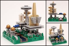 LEGO Microscale The City of Tomorrow