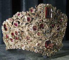 Queen Therese's tiara, circa 1830