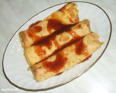 Tehéntúrós palacsinta French Toast, Breakfast, Cake, Food, Morning Coffee, Kuchen, Essen, Meals, Torte