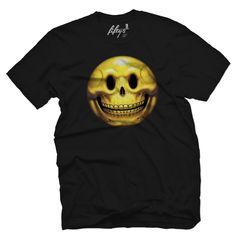 Smiley Skull Men's T Shirt
