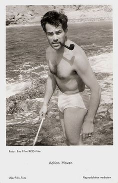German postcard by Ufa, Berlin-Tempelhof, no. Publicity still for <i>Solange Du Lebst/As Long as You Live</i> (Harald Reinl, Vintage Postcards, Erotica, Athlete, Writer, Cinema, Singer, Actors, Retro, Male Celebrities