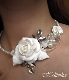 Some people can. This Brides jewelery is maid from fimo-clay and all kinds of jewelery-adds. By Helviika  from Estonia. Found at: http://www.isetegija.net/index.php?ind=blog=home=7549