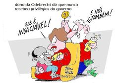 Sponholz: Marcelo Odebrecht, o insaciável.