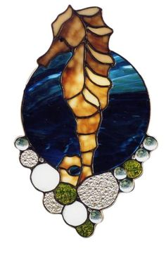 Seahorse Stained Glass