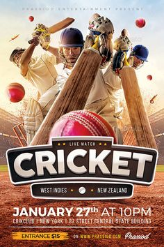 Cricket Match Flyer Template for your Bar and Pub Sports Event! Cricket Books, Cricket Poster, Cricket Logo, Cricket Sport, Cricket Match, Sports Flyer, Sports Clubs, Ipl Cricket Games, Cricket Streaming