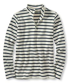 French Sailor's Shirts, Quarter-Zip Pullover from L.L.Bean on shop.CatalogSpree.com, your personal digital mall.