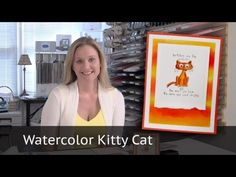 Watercolor Video Tutorial with Stampin Up Giggle Greetings