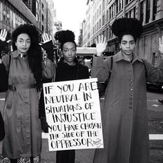 If you are neutral in situations of injustice, you have chosen the side of the oppressor