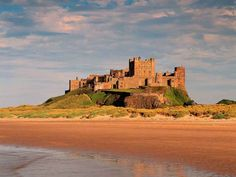 BAMBURGH CASTLE: The location of Bamburgh Castle was previously home to a fort of native Britons, and may have been the capital of the British kingdom in the region. The Normans built a new castle on the site, which forms the core of the present building.  Interesting Fact! – During the Second World War, the Royal Navy corvette HMS Bamborough Castle was named after it.