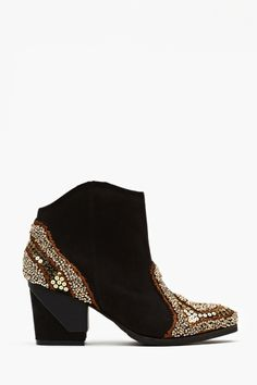Bead It Ankle Boot