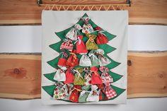 Výsledek obrázku pro šitý adventní kalendář