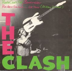"""The Clash - Rudie Can't Fail [1979, CBS 8383│Netherlands] - 7""""/45 vinyl record"""