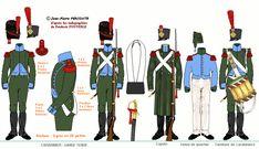 Fanteria leggera 2° Rgt. cmp. carabinieri 1807