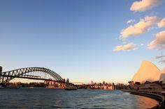Sydney Sehenswürdigkeiten - Sydney Top 10 Reisetipps - Scenic Spots - Harbour Bridge - Opera House by night - inkl. Sydney Skyline